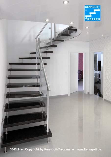 treppenbeispiele steintreppen kenngott treppen. Black Bedroom Furniture Sets. Home Design Ideas